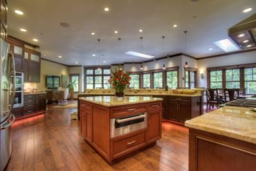 "An expansive kitchen with all the ""I wants."""