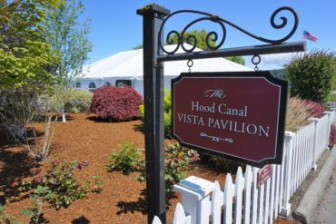 The Hood Canal Vista Pavilion in Port Gamble