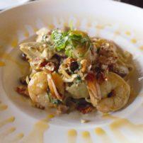 Fettuccini gamberoni