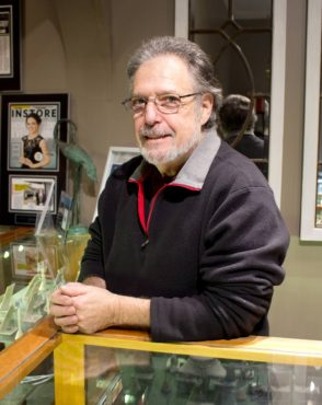 Leo Fried, owner and jewelry designer