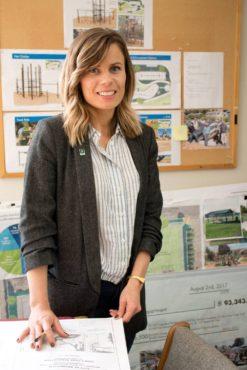 Park planner Colette Berna
