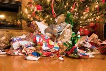 Christmas Recycling