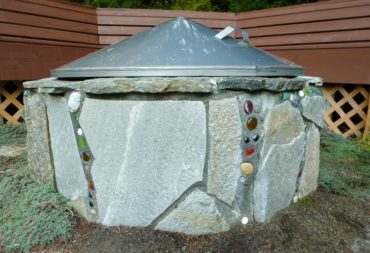 Colleen Miko's fire pit is no ordinary circle of rocks. A little creativity can transform the mundane into a star.