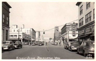 Pacific Avenue in the '40s