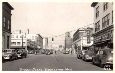 Pacific Avenue in the '40s