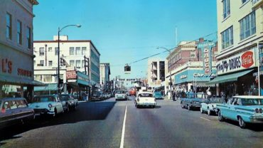 Pacific Avenue in the '50s