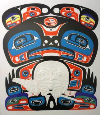 """""""Sea Bear"""" by Martin Oliver on MV Tacoma"""