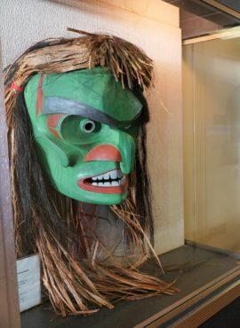 """Human Mask"" by Greg Colfax on MV Puyallup"