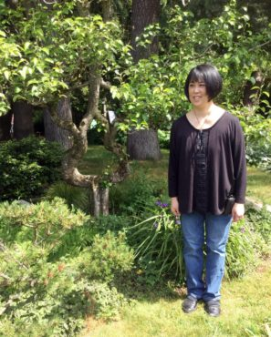 Donna Harui and the pear tree