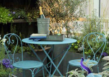 Designers create patio gardens at the Northwest Flower and Garden Show.