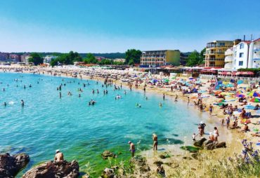 The beach at Old Town Sozopol