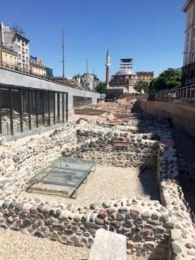 Roman ruins discovered in 2012 underneath the city of Sofia