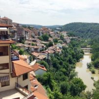 In the hillside town of Veliko Tarnovo