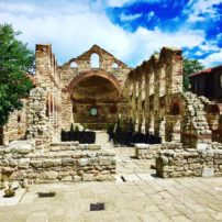 Church ruins in Nesebar