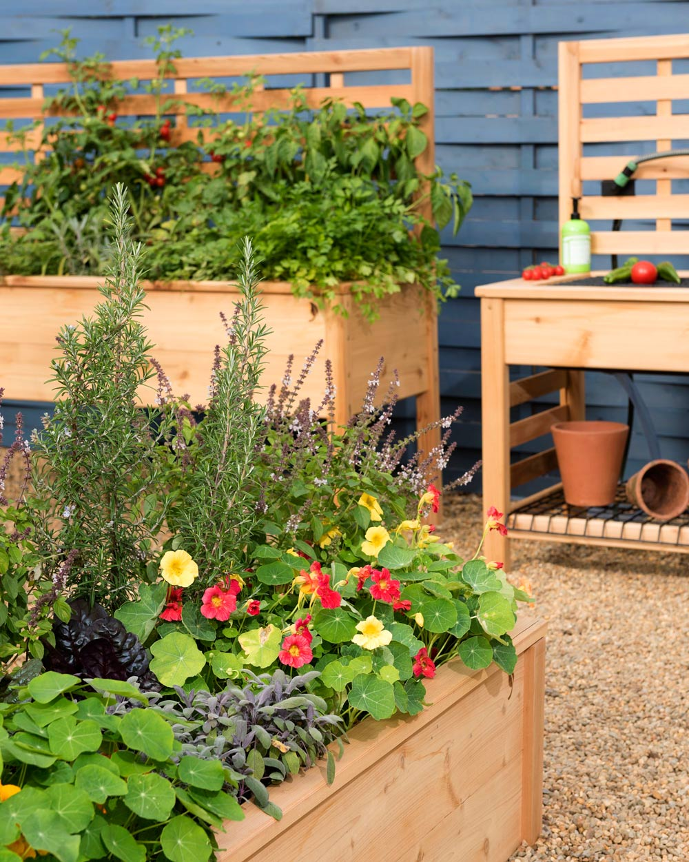 Raised Beds And Multipurpose Potting Benches Can Add Both Beauty And  Functionality To Your Patio Or Deck.