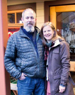 Owners Jeff and Jocelyn Waite