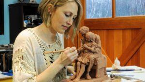 Internationally Known Sculptor Mardie Rees