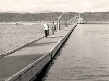 Alderbrook dock circa 1961
