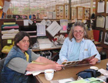 Marilyn Davis and Cheryl Pelkey, owners