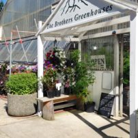 Brothers Greenhouses Main entrance