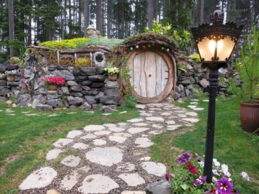 The famous Hobbit House