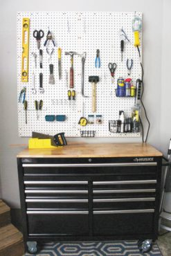 Garage Peg-Board