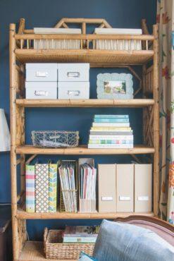 Rattan Shelves