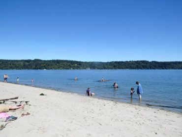 Anderson Point beach in Silverdale