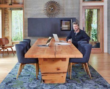 Jason McLennan, architect/homeowner (Photo courtesy Daniel banko)