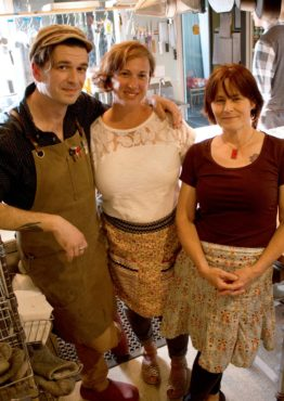 L-R: Owners John Delp, Christy Penney and Pam Buitenveld