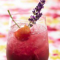 Cherry Lavender Spritzer