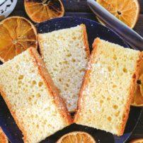 Orange Butter Sponge Cake