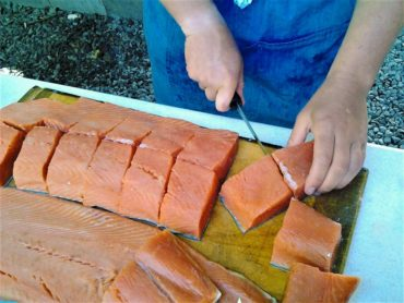 A salmon-rich diet contributed to the longevity of the grandparents' grandparents, and is considered essential to the physical well-being of Northwest indigenous peoples.