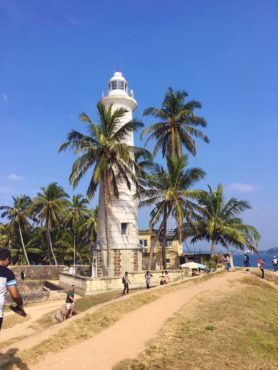 Galle Dutch Fort on the southern tip of Sri Lanka