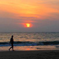 Sunset in Hikkaduwa