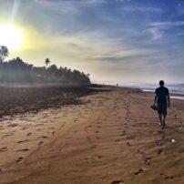 Sunrise on Narigama Beach