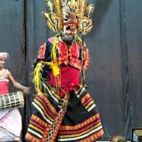 Sri Lankan cultural dance show in Kandy