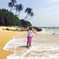 Author Lund enjoys the beaches on the Eastern Shore.