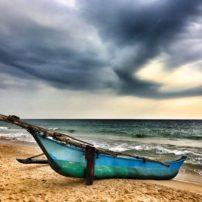 Traditional Oruwa fishing boat