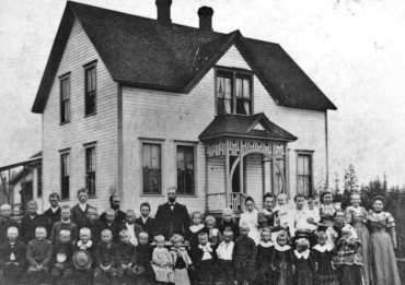 Children's home, circa 1894