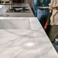 Blurring the lines between sink and countertop