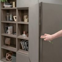 Concealed storage for your living room