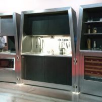 Self contained kitchen — open