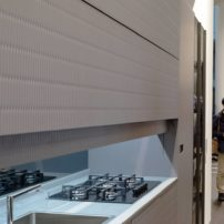 Concealed one-wall kitchen — nearly closed