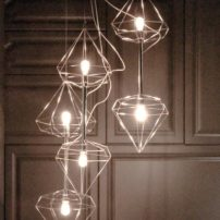 Whimsical light fixture