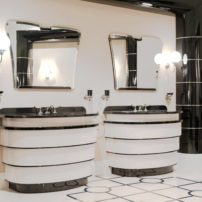 Art deco vanities and accessories
