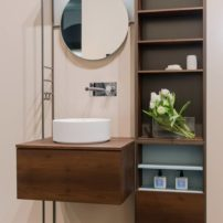 All-in-one bathroom vanity