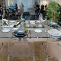 Up your outdoor living with La Tavola entertaining table