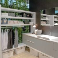 High-functioning laundry room