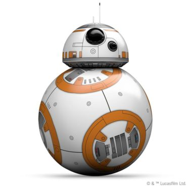 BB-8 droid that can be controlled by a smart device.